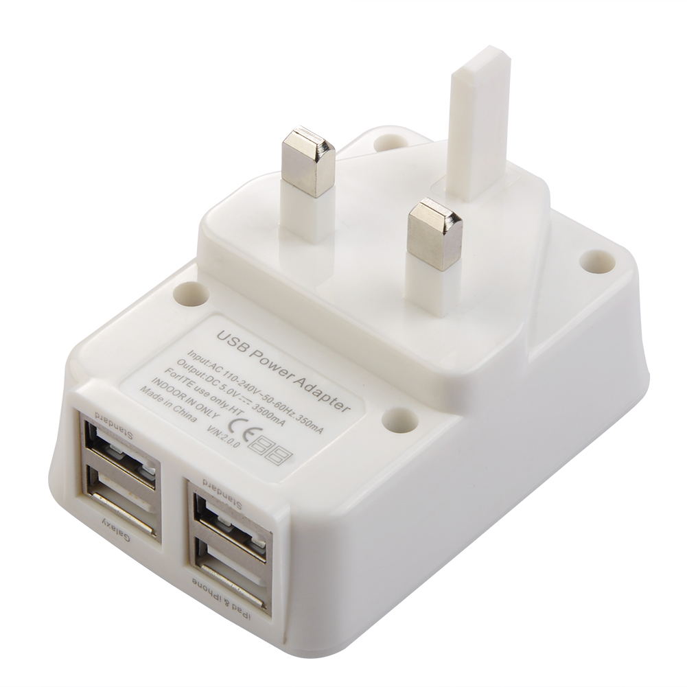 TC916 4 USB port Travel charger