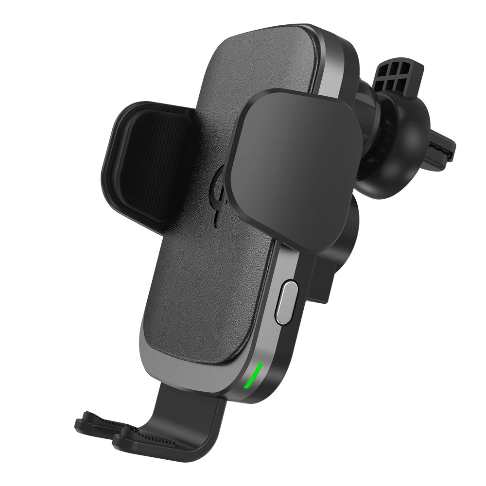 C60 QI certified Car mount wireless charger